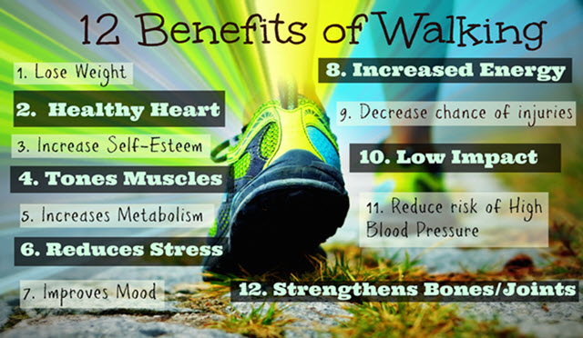walking benefits