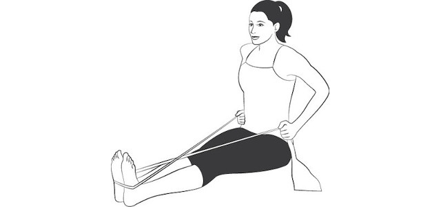 resistance band x move stretch