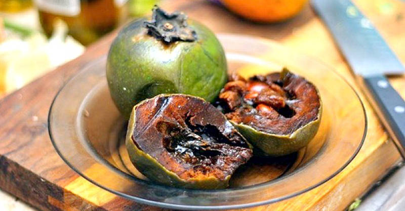 black sapote fruit healthy baked oatmeal with fruit
