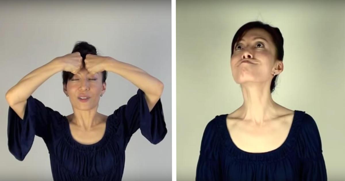 4 Best Facial Exercises To Get Rid of Wrinkles, Eye Bags ...