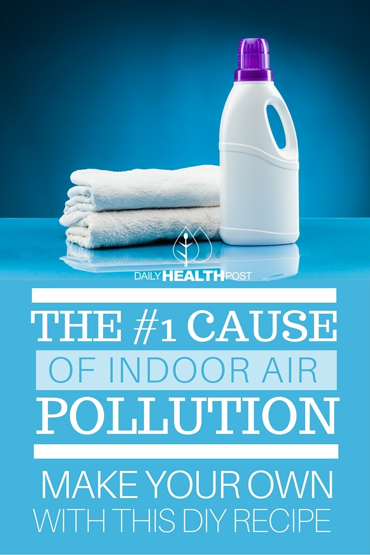 Fabric softener causes indoor air pollution - How to make your own fabric softener ...