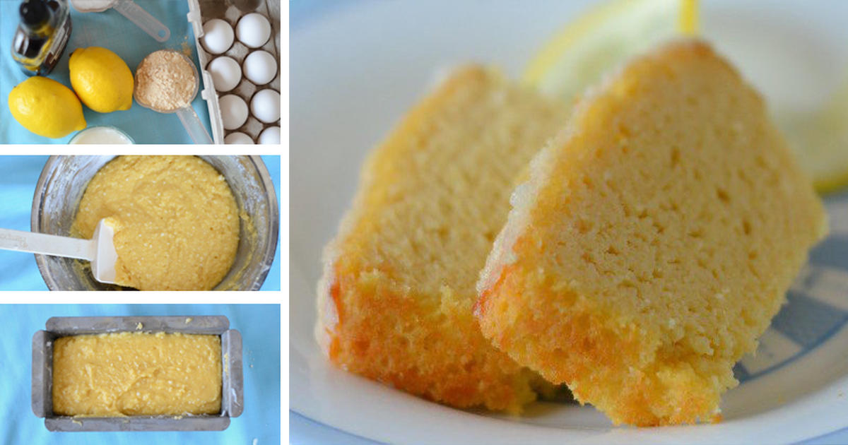 Gluten-free Lemon Pound Cake with Maple Syrup, Coconut and No Dairy at ...