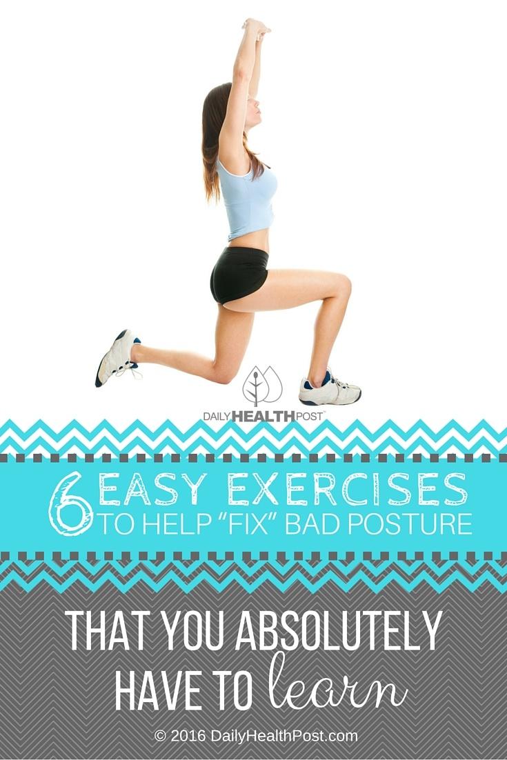 exercises fix bad posture