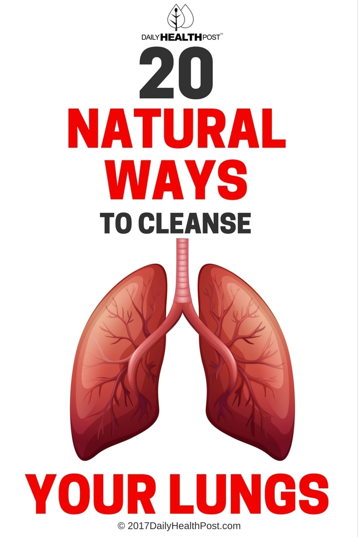 cleanse your lungs