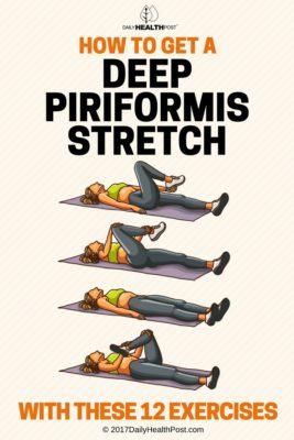 deep piriformis stretch